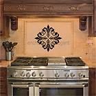 Embellishments Vinyl Decal Wall Stickers Room Decor Oven Backsplash