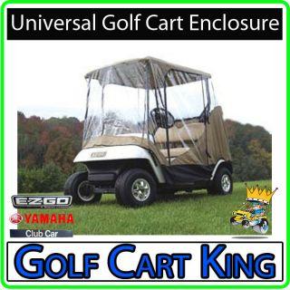 EZGO   Club Car   Yamaha Golf Cart Enclosure   (2 Pass)