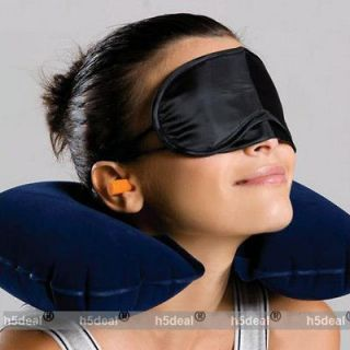 HOT Inflatable Travel Pillow Neck U Rest Air Cushion