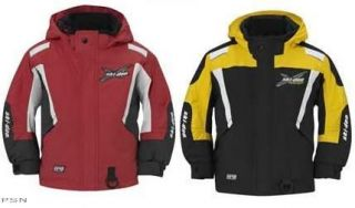 SKI DOO KIDS X TEAM JACKET 2013 PINK/YELLOW 440588