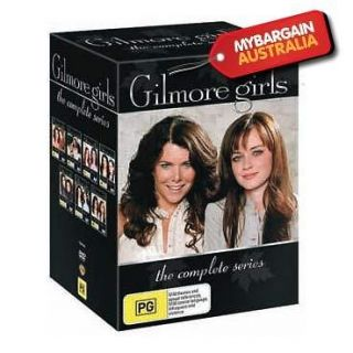 NEW Gilmore Girls Complete Series DVD Box Set Seasons 1 2 3 4 5 6 7