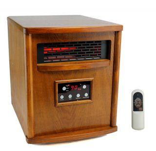 LifeSmart LS 4W1500 X 1500W Infrared Quartz Electric Heater Portable