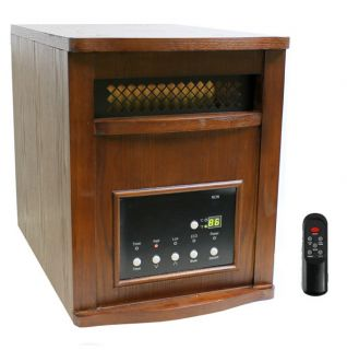 LS PP1800 6CHW 1500W Infrared Quartz Electric Heater Portable 1800sqft