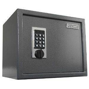 Digital Keypad Mountable Wall Floor Safe Home Office Solid Steel Fast