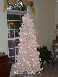 slim artificial christmas tree in Home & Garden