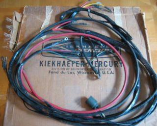 mercury outboard wiring harness in Motors/Engines & Components