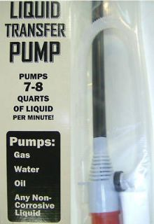 Electric Gas & Liquid Siphon Pump Battery Operated New