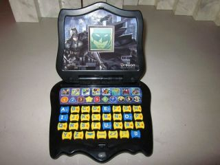 Batman The Dark Knight Jr Learning Laptop lap top Works Great Easy to