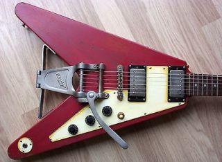 Mack NUMBER 7 Gibson Epiphone 58 Korina Flying V   Bigsby / Relic