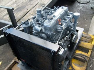 ISUZU 4BTD2 4 cyl Diesel Engine Industrial/ PTO   Generators