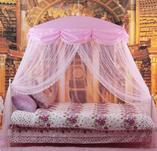 New Purple Twinkle Netting Bed Canopy Mosquito Net