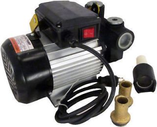 60 Series 110v AC 15.75 gpm Oil Transfer Pump Fuel Diesel Kerosene