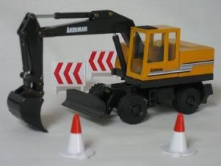Newly listed Joal 150 Diecast Akerman EW200 Wheeled Excavator ~ MIB