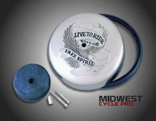 Free Spirit Air Cleaner Cover   Kawasaki VN1500 Classic 1500 Nomad