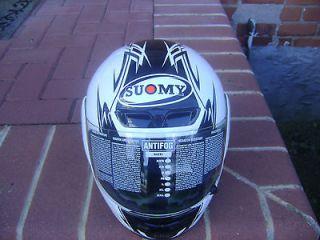Suomy Gunwind Helmet Size L in Titanium Color