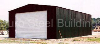 24x36x12 Metal Building Factory DiRECT Surplus PreFab Garage Workshop