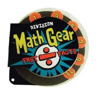 Math Gear Fast Facts   Division, IKids, Acceptable Book