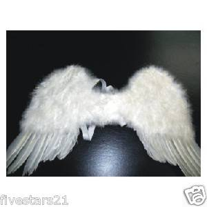 Newly listed CHILD WHITE FEATHER FAIRY ANGEL WINGS WEDDING COSTUME