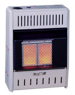 VENTLESS GAS PLAQUE HEATER THERMOSTAT PROPANE LP WALL