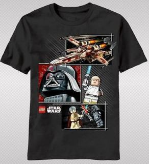 NEW Lego Star Wars X Wing Darth Vader Luke Classic Movie Kid Boy T