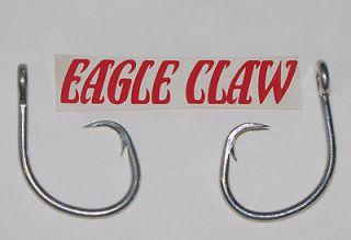 20 Eagle Claw 14/0 Circle Hook   Sharks, Tuna, Catfish Hooks   Rigs