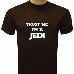Trust Me Im a Jedi Funny Movie Tribute Star Wars Yoda Mens T shirt
