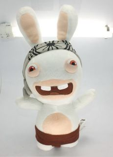 Rayman Raving Rabbids Cute Soft 12  Rabbit Big Ears Plush Toy Great