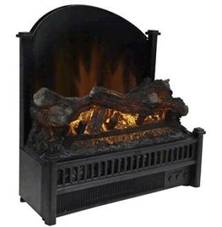 Glow 5000 BTU Electric Fireplace Insert w/ Remote Control NEW MODEL