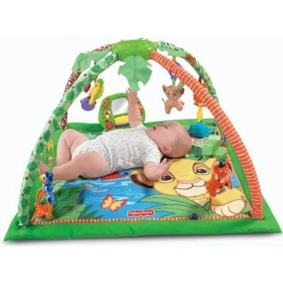 Fisher Price Disney Lion King Simba Deluxe Kids Musical King Sized Gym