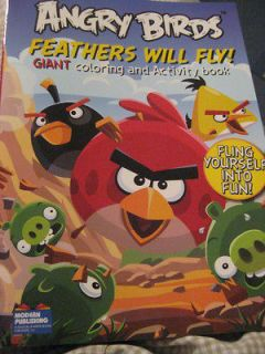Angry Birds Coloring Books 2 Different Types