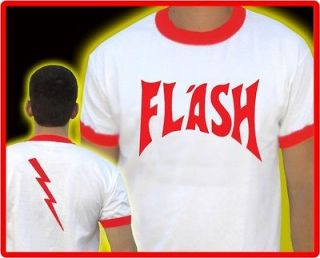 Flash Gordon T Shirt BNWT STAG fancy dress Queen Freddie Mercury Retro