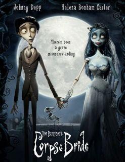 CORPSE BRIDE horror cult movie dvd Tim Burton Carter Depp glossy t