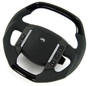 Flat top Steering Wheel Black Piano Range Rover Sport