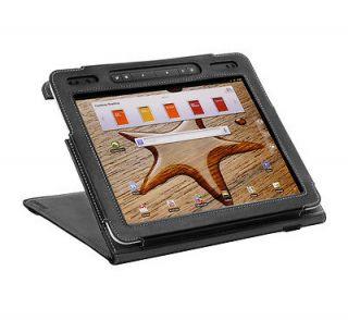 Black Flip Stand Cover Case for PocketBook A10 Tablet (A 10)