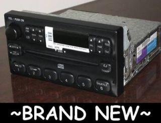ford oem radio tape player fm am cd controls head unit f150 f250 f350. Black Bedroom Furniture Sets. Home Design Ideas