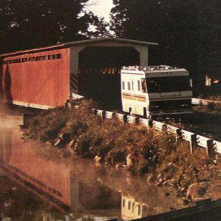 1977 Motor Home RV Travel trailer brochure camper AD floor plans