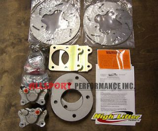 Honda 300 FOURTRAX 1992 1999 High Lifter Front Disc Brake Conversion