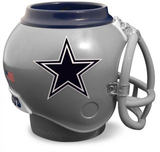 DALLAS COWBOYS Fan Helmet Mug Can Bottle Cooler Desk Caddy Cup