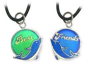best friend mood necklace