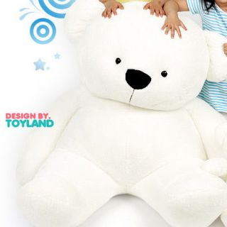 NEW SUPERB stuffed TEDDY BEAR 70 FAT in LG tromm cf