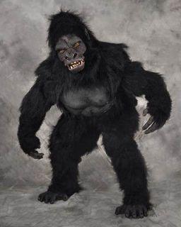 Professional Gorilla Ape Adult Halloween Costume Fits Upto 6 5 Men