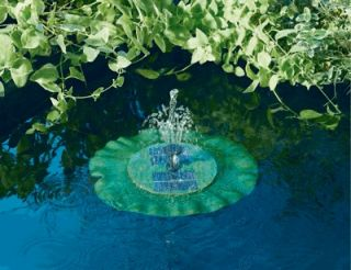 New Solar Floating Water Lilly Pond Pump Fountain Kit Ideal xmas Gift