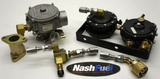 IMPCO COMPLETE PROPANE CONVERSION KIT YALE MAZDA D5 AND F2 ENGINES