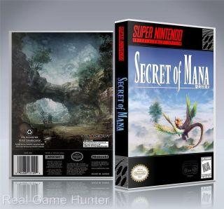 snes secret of mana in Video Games & Consoles
