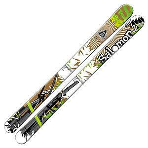 Salomon SHOGUN Junior Skis 140cm New 111203