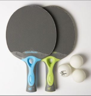 Ping Pong Tacteo Duo Outdoor, Table Tennis fun bats
