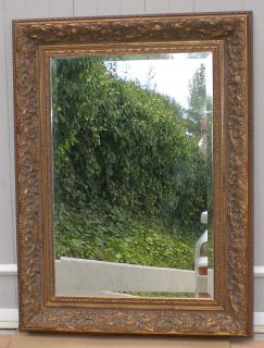 AMAZING EXTRA LARGE DECOR MIRROR WITH FRAME
