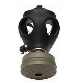 Survival Riot Revolution Gas Mask 40mm NATO Filter + Drinking Tube
