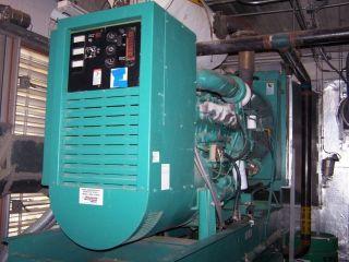 250KW Cummins Diesel Generator w/ Fuel Tank & ASCO 962 Auto Transfer