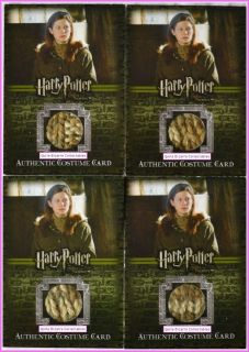 Ginny Weasley Bonnie Wright Costume Card C5 Harry Potter Order Phoenix